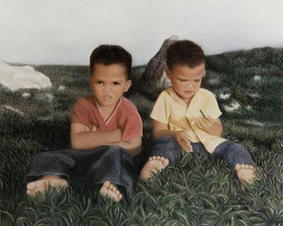 Portrait 2 brothers