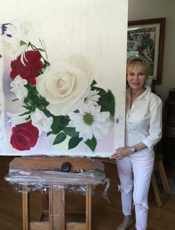 Creating Nature's Beautiful Flowers, Pastel Painting,