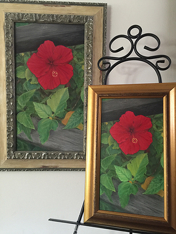 Re-Creating Floral Fine Art Takes Time