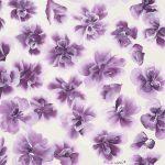 purple flower doodle fine art