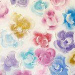 flower doodle bouquet painting